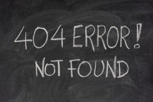 404-error-message